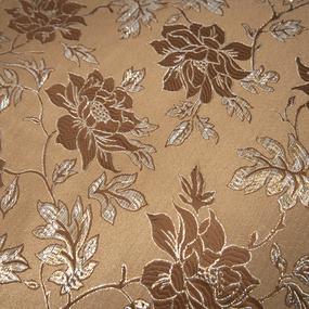 Портьерная ткань с люрексом 150 см на отрез H627 цвет шоколад фото