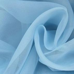 Вуаль 280 см цвет 17 голубой фото