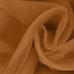 Вуаль 280 см цвет 14 коричневый фото