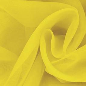 Вуаль 280 см цвет 30 желтый фото
