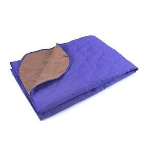 Покрывало ультрастеп двухстороннее цвет фиолетовый-коричневый 150/210 фото