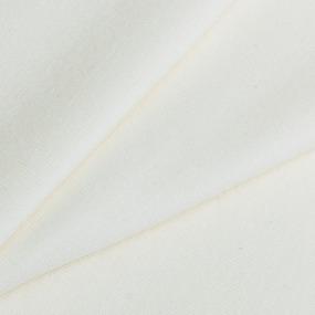 Мерный лоскут кулирка гладкокрашеная 2001 цвет экрю 120/98х2 см фото