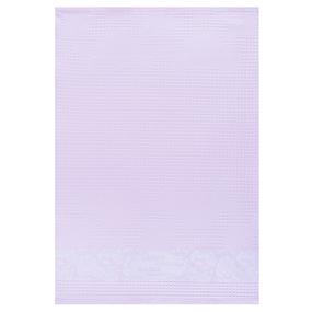 Полотенце вафельное Самая лучшая мама на свете цвет розовый 50/70 см фото