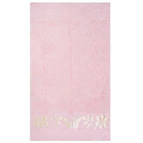 Полотенце велюровое Европа 50/90 см цвет персик фото