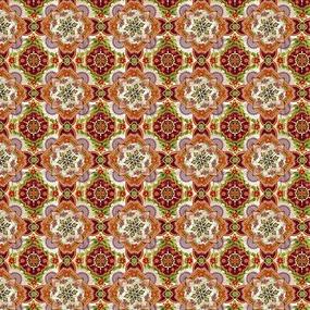 Ткань на отрез рогожка 150 см 30190/1 Барокко фото