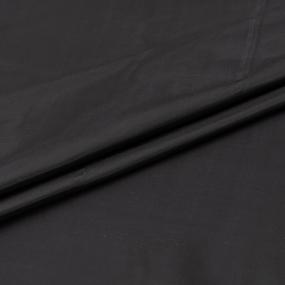 Ткань на отрез таффета 150 см 190Т цвет черный фото