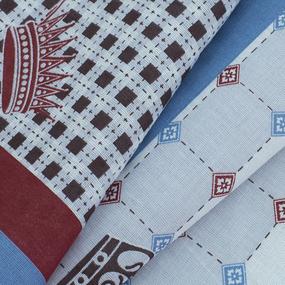 Ткань на отрез ситец платочный 135 см 96141 фото