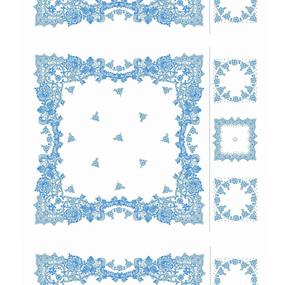 Ткань на отрез ситец платочный 80 см 69251 фото