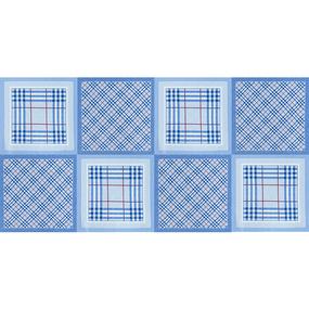 Ткань на отрез ситец платочный 135 см 96122 фото