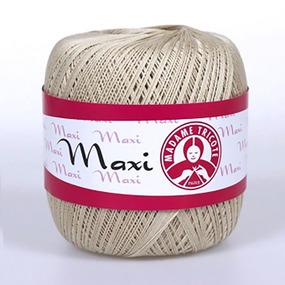 Пряжа Madame Tricote Maxi 100% хлопок 100 гр. 565м. цвет 4660 фото
