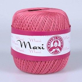 Пряжа Madame Tricote Maxi 100% хлопок 100 гр. 565м. цвет 4914 фото