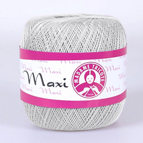 Пряжа Madame Tricote Maxi 100% хлопок 100 гр. 565м. цвет 4920 фото