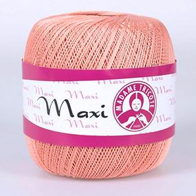 Пряжа Madame Tricote Maxi 100% хлопок 100 гр. 565м. цвет 4934 фото