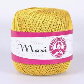 Пряжа Madame Tricote Maxi 100% хлопок 100 гр. 565м. цвет 4940 фото