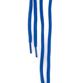 Шнур круглый синий 110см уп 2 шт фото
