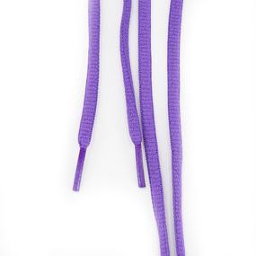 Шнур круглый фиолетовый 110см уп 2 шт фото
