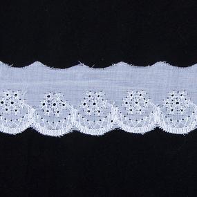 Шитье хлопок 40 мм/13.7 м 2751 цвет белый фото