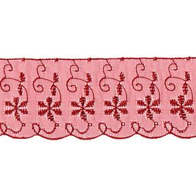 Шитье капрон 65 мм/13.7 м TJ-3101/D1991 цвет бордовый фото