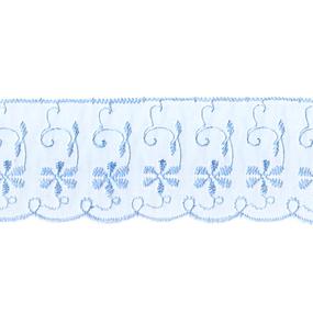 Шитье капрон 65 мм/13.7 м TJ-3101/D1991 цвет голубой фото