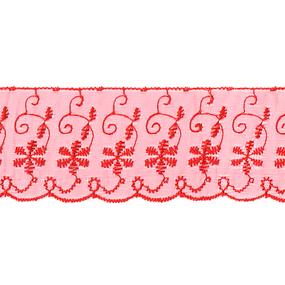 Шитье капрон 65 мм/13.7 м TJ-3101/D1991 цвет красный фото