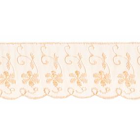 Шитье капрон 65 мм/13.7 м TJ-3101/D1991 цвет персиковый фото