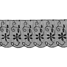 Шитье капрон 65 мм/13.7 м TJ-3101/D1991 цвет черный фото