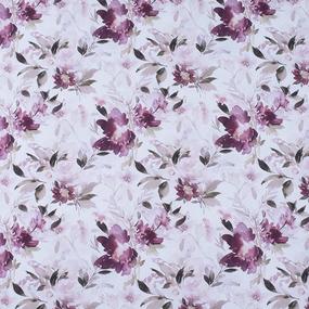 Ткань на отрез перкаль 150 см 90015 Акварельные цветы фото