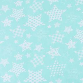 Мерный лоскут бязь плательная 150 см 1683/16 цвет мята 5,2 м фото