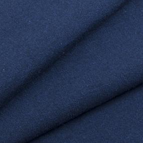 Мерный лоскут футер петля с лайкрой Темно-синий фото