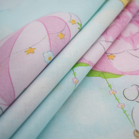 Ткань на отрез перкаль 150 см 13324/1 Воздушные шары фото