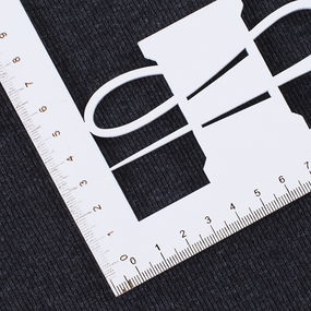 Ткань на отрез кашкорсе с лайкрой 1206-1 цвет антрацит фото