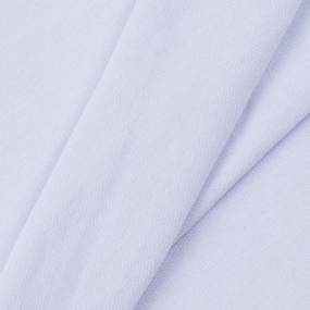 Ткань на отрез футер с лайкрой 1306-1 цвет белый фото