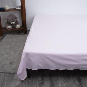 Простыня поплин Розовый 1.5 сп фото