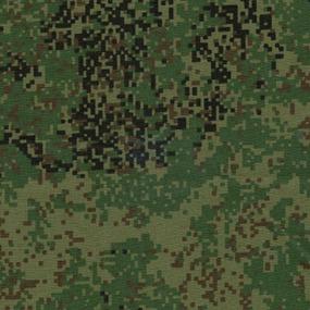 Ткань на отрез саржа 12с-18 цвет камуфляж 123-3п фото