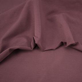 Ткань на отрез кулирка с лайкрой цвет темно-лиловый фото