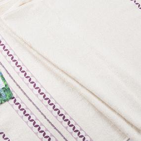 Полотенце махровое Sunvim 12-48 50/90 см цвет бежевый фото