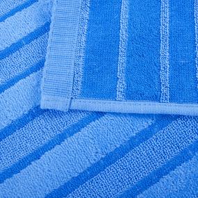 Полотенце махровое Sunvim 12В-2 34/78 см цвет голубой фото
