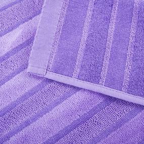 Полотенце махровое Sunvim 12В-2 34/78 см цвет сиреневый фото