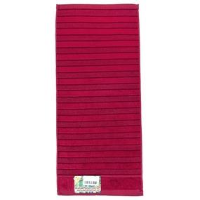 Полотенце махровое Sunvim 12В-2 34/78 см цвет бордовый фото