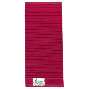 Полотенце махровое Sunvim 12В-2 50/90 см цвет бордовый фото