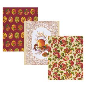 Набор вафельных полотенец 3 шт 45/60 см 11517/1 Русские традиции фото