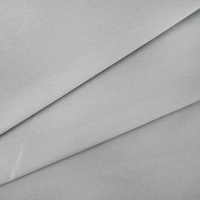 Ткань на отрез поплин гладкокрашеный 115 гр/м2 220 см цвет серый фото