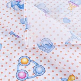 Набор детских пеленок бязь 4 шт 90/120 см 10851/1 Мурлыка компаньон фото