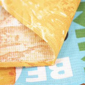 Полотенце вафельное пляжное 3082-1 Санрайз 150/75 см фото