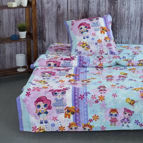 Детское постельное белье из бязи 1.5 сп 11301/1 Лора фото