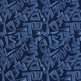 Простыня трикотажная на резинке Премиум цвет буквы 140/200/20 см фото