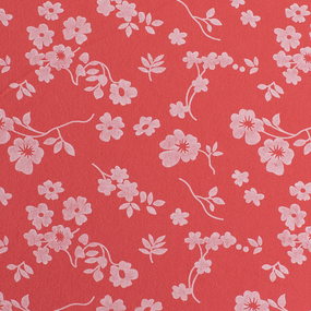 Простыня трикотажная на резинке Премиум цвет цветы55 140/200/20 см фото