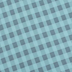 Простыня трикотажная на резинке Премиум цвет клетка6 90/200/20 см фото