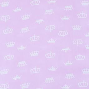 Маломеры бязь плательная 150 см 1694/2 цвет розовый 1 м фото
