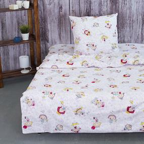 Детское постельное белье из поплина 1.5 сп 9816/1 Ириски фото